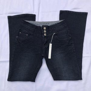 Size 5 Macy's Junior Jeans Bootcut NWT